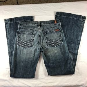 7 for all Mankind Jacksonville Lattice Pocket 27